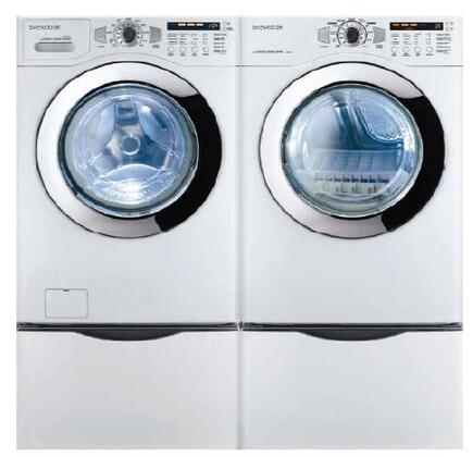 Daewoo DWRWE33WS Electric Dryer