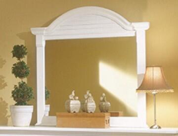 American Woodcrafters 6510032  Rectangular Landscape Dresser Mirror