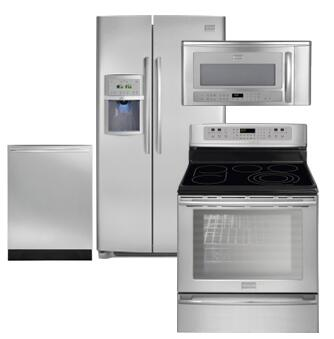 Frigidaire FRIGIDAIREKITCHENKIT18 Side-By-Side Refrigerators