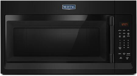 "Maytag MMV1174Fx 30"" Compact Over-The-Range Microwave With 1.7 cu. ft. Capacity, Control Lockout Option, 300 CFM, Incandescent Lighting, in"