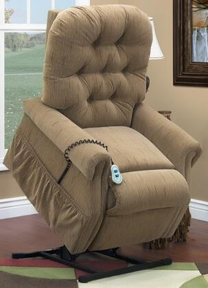 MedLift 2553TBH Contemporary Fabric Wood Frame  Recliners
