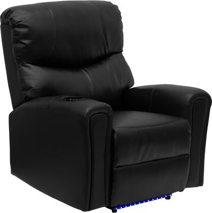 Flash Furniture BT7865AUTOBKGG Contemporary Bonded Leather Wood Frame  Recliners
