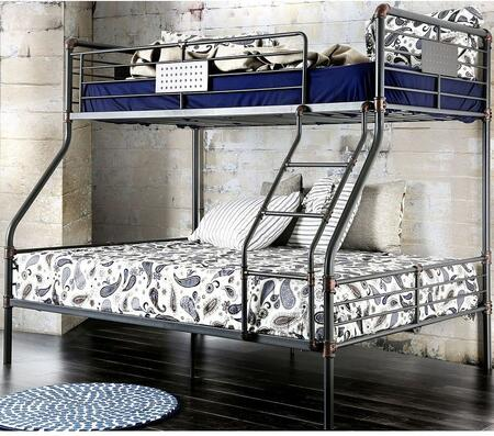 Furniture of America CMBK913TFBED Olga I Series  Bed