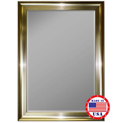 Hitchcock Butterfield 81160X 2nd Look 3 Step Pewter Framed Wall Mirror