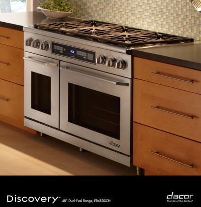 Dacor er48dschngh 48 inch renaissance series dual fuel for Dacor 48 range