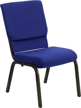 Flash Furniture XUCH60096NVYGG Hercules Series Armless Fabric Metal Frame Accent Chair