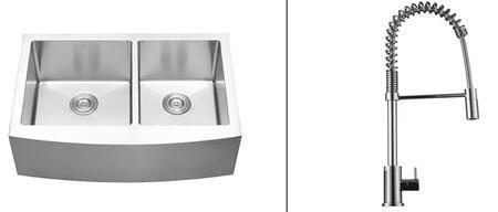Ruvati RVC2441 Kitchen Sink