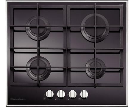 Kuppersbusch GKS67400MUL  Gas Sealed Burner Style Cooktop, in Black