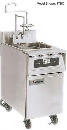 """Frymaster 17BC- 20"""" Pasta Magic Series Commercial Gas Pasta Cooker with 17 kw Electrical Input, 8.75 Gallon Capacity, Programmable Timer Controller, Swing Hot/Cold Faucet and Basket Lifts, in Stainless Steel"""