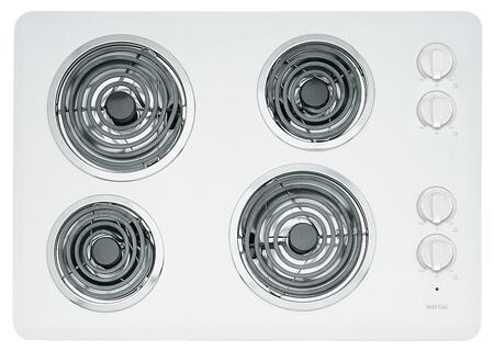 Maytag MEC4430WW  Electric Cooktop, in White