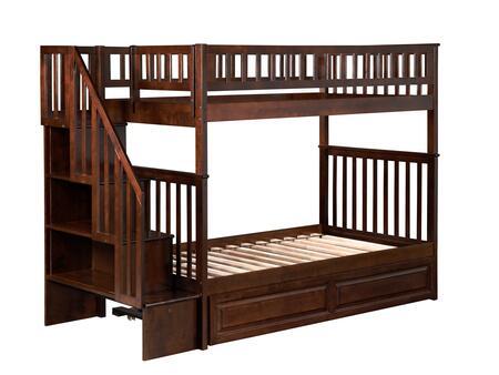 Atlantic Furniture AB56634  Twin Size Bunk Bed