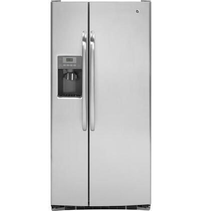 GE GSHS3KGZSS Freestanding Side by Side Refrigerator