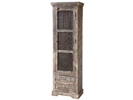 Stein World 12325 Corner Wood 2 Drawers Cabinet