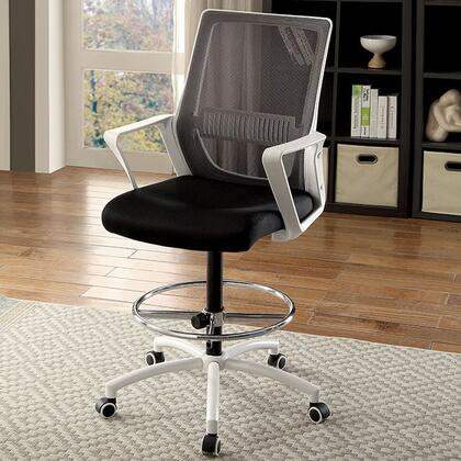 Furniture Of America Cmfc646wh Inch Contemporary Office Chair Appliances Connection