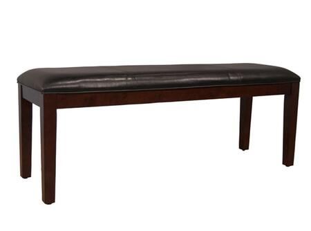 AAmerica PRSES294K Parson Series Accent  Solid Hardwood Leather Bench