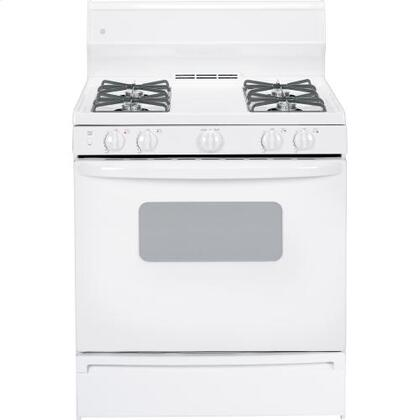"""GE JGBS07DETWW 30"""" Gas Freestanding 