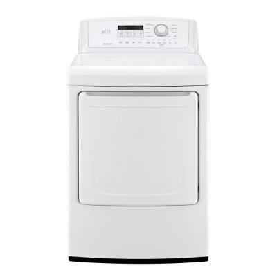 "LG DLG4871W Front Load Gas 7.3 cu. ft. Capacity No 27"" Digital and Knobs No Dryer 