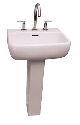 Barclay 3934WH White Bath Sink