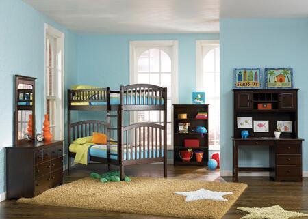 Atlantic Furniture RICTTAW Richmond Series  Bed