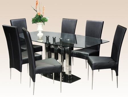 Chintaly CILLADTSET Cilla Dining Room Sets