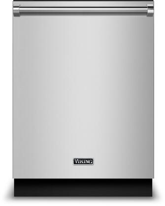 "Viking RVDW103 24"" Energy Star Rated Built In Dishwasher with 14 Place Settings, Daily Wash Cycle, Triple Filtration System, 2 Adjustable Upper Rack, Cutlery Basket, Delay Start, and Multi-Level Power Wash: Stainless Steel"
