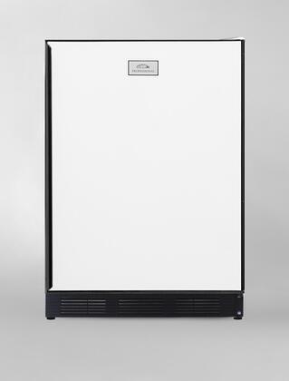 Summit CT67  Freestanding Counter Depth Compact Refrigerator with 5.1 cu. ft. Capacity, Glass Field Reversible Doors