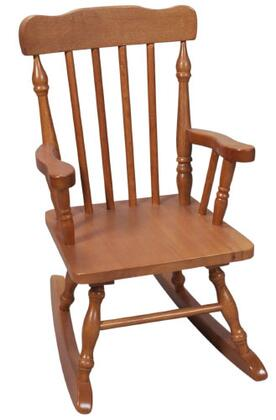 Gift Mark 3100H  Armless  Wood Frame No Rocking Chair