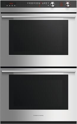 """Fisher Paykel OB30DTEPX3 30"""" Stainless Steel Double Wall Oven"""