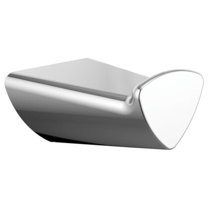 Zura  77435 Delta Zura: Robe Hook in Chrome