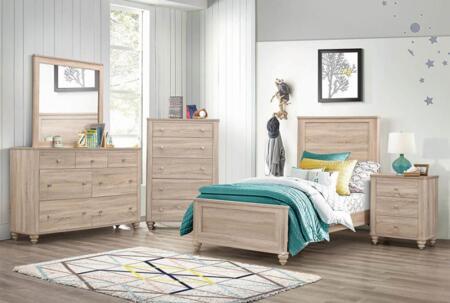 Coaster Wenham 5 Piece Twin Size Bedroom Set