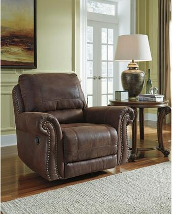 Flash Furniture FBC8009RECESPGG Breville Series Contemporary Faux Leather Metal Frame  Recliners