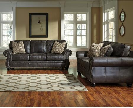Flash Furniture Benchcraft Breville 2 PC Living Room Set with Sofa + Loveseat in
