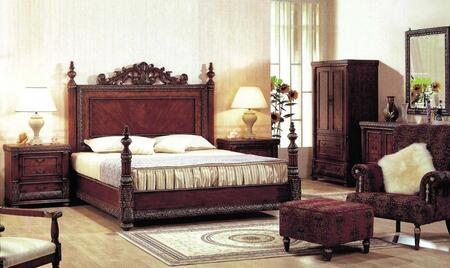 Yuan Tai 8425CH Bella Series Wood Chest