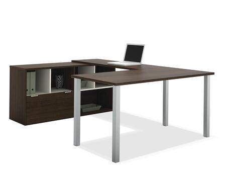 Bestar Furniture 50853 Contempo U-Shaped desk