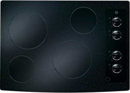 """GE CleanDesign JP336XD 30"""" Built-In Electric Cooktop With Ceramic-Glass Cooktop, Ribbon Heating Elements, 8"""" Power Boil Element & in XXX"""