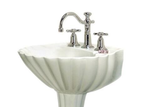 Barclay B3588WH White Bath Sink