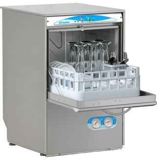 Eurodib S480 (Lamber)Electronic Glasswasher With Two Baskets for Glasses, Saucer Insert and Cutlery Container