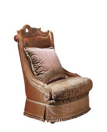 Yuan Tai CA2045A Callie Series Fabric Chair with Wood Frame