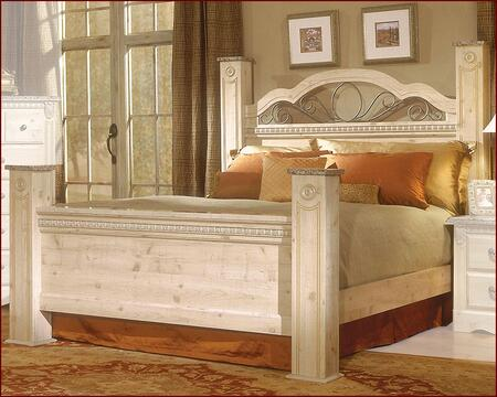Standard Furniture 6416A Seville Series  King Size Poster Bed