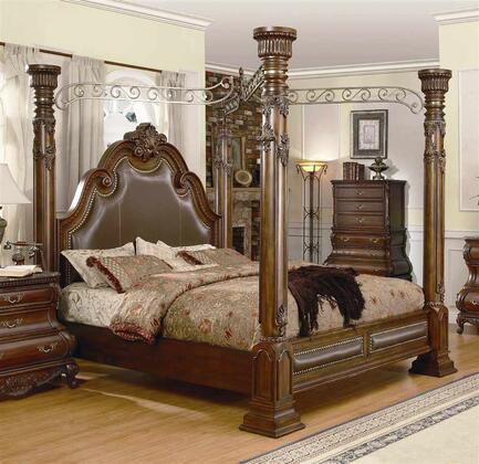 Yuan Tai CA7731K Calidonian Series  King Size Poster Bed