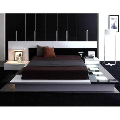 VIG Furniture VGWCIMPERAQ Modrest Impera Series  Queen Size Platform Bed
