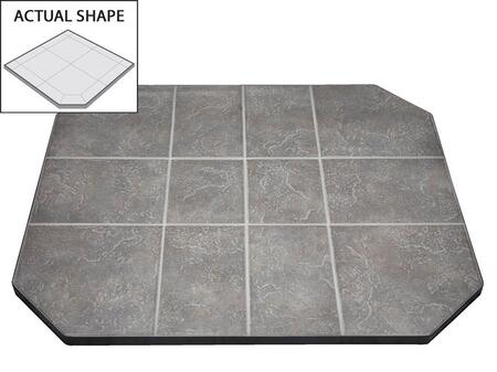 """American Panel AP206 32"""" x 32"""" Flat Wall Hearth Board"""