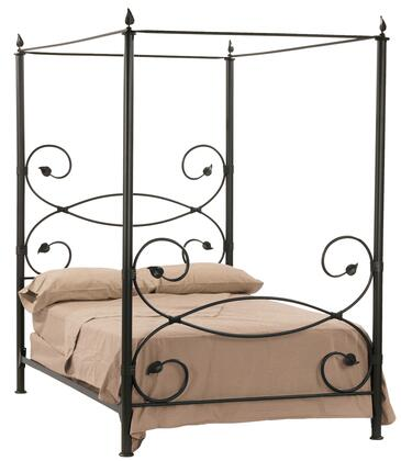 Stone County Ironworks 900743  California King Size Canopy Complete Bed