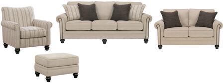 Milo Italia MI4861SLACOLINE Elisabeth Living Room Sets
