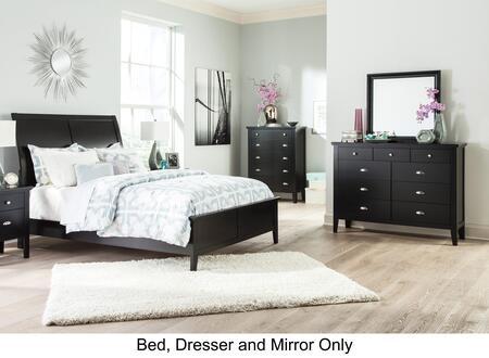 Signature Design by Ashley B591QSET3PC Braflin Queen Bedroom