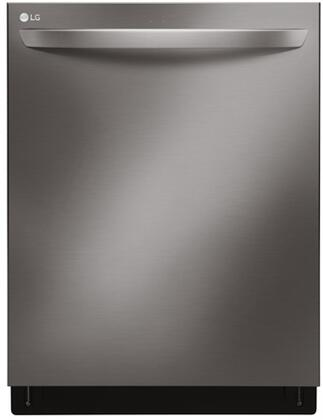 "LG LDT7797BD 24"" Black Stainless Steel Series Built In Fully Integrated Dishwasher with 3rd Rack, 15 Place Settings Place Settingin Black Stainless Steel"