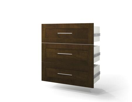 "Bestar Furniture 26161 Pur by Bestar 3-Drawer set for 36"" storage unit"