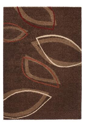 Citak Rugs 6466-030X Studio Collection - Spade - Brown