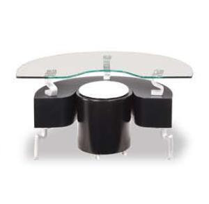 Global Furniture USA 288EBLWH Modern  End Table
