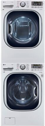LG 548493 TurboWash Washer and Dryer Combos